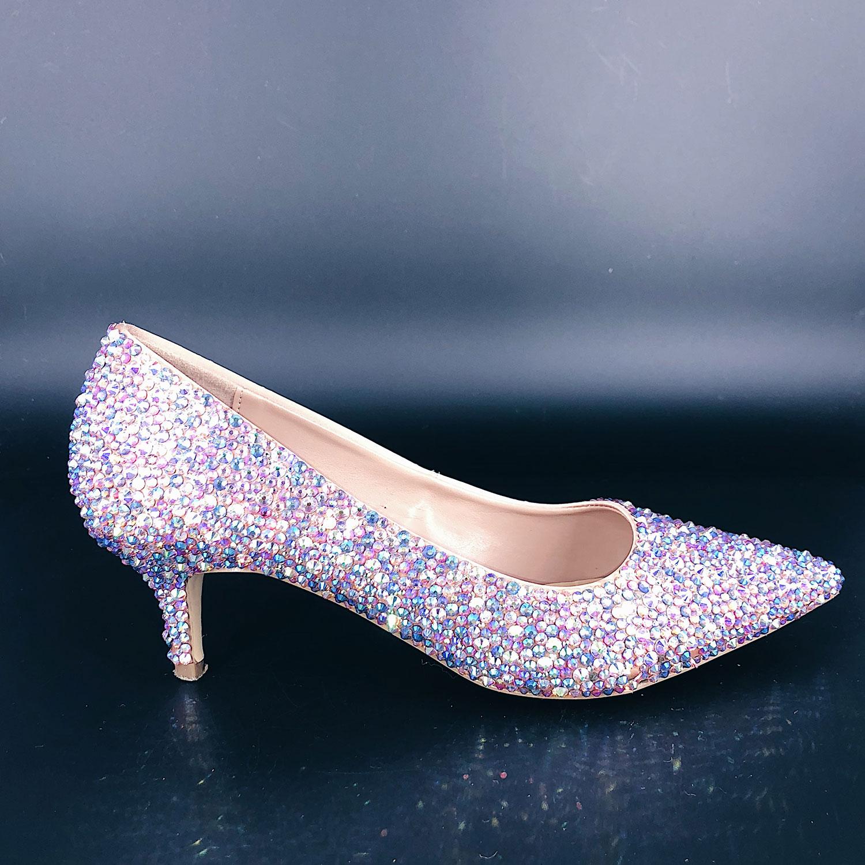 Pink Mix Heels