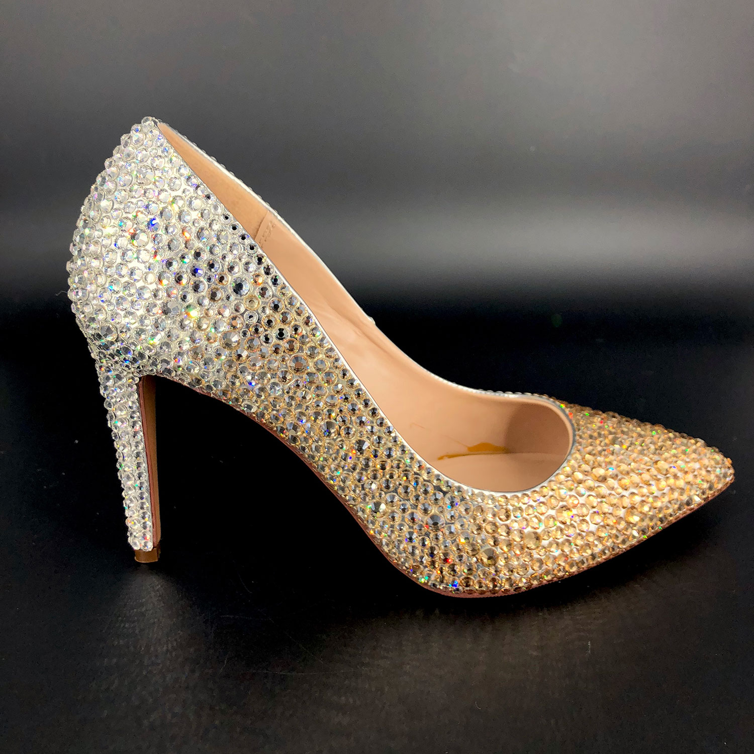 Silver Gold Heels